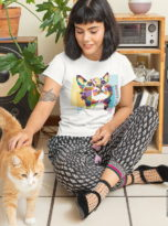 t-shirt-mockup-featuring-a-woman-and-her-cat-at-home-30669-min